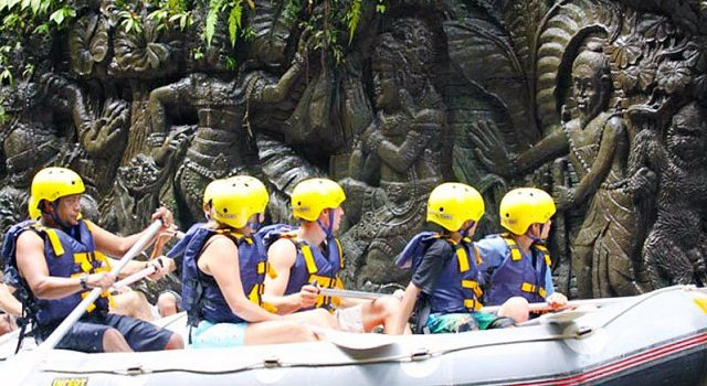 Best White Water Ayung River Rafting In Bali